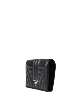 Prada: wallets & purses online - Diagramme bifold wallet