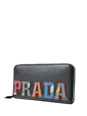 Prada: wallets & purses online - Multicolour character wallet