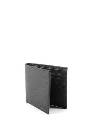 Prada: wallets & purses online - SAFFIANO LEATHER BI-FOLD WALLET