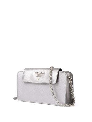Prada: wallets & purses online - Saffiano leather mobile case