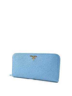 Prada: wallets & purses online - Saffiano leather wallet