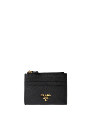Prada: wallets & purses - Saffiano leather card case