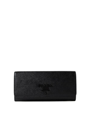 Prada: wallets & purses - Saffiano leather continental wallet