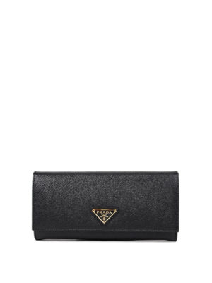Prada: wallets & purses - Saffiano leather flap wallet