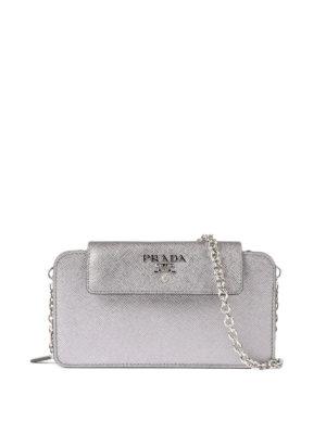 Prada: wallets & purses - Saffiano leather mobile case