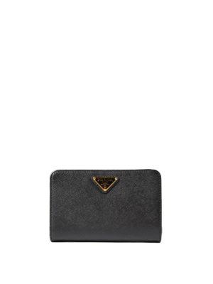 Prada: wallets & purses - Saffiano leather wallet