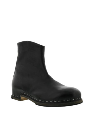 Premiata: ankle boots online - Black leather ankle boots