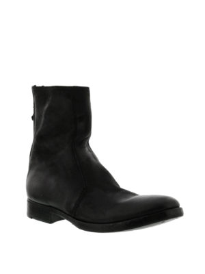 Premiata: ankle boots online - Leather booties