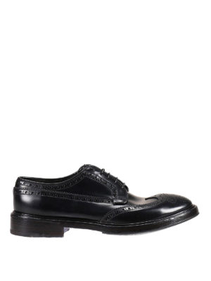 Premiata: classic shoes - Idrial brushed leather brogues
