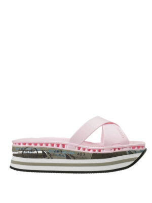 Premiata: flip flops - Moura rubber sandals