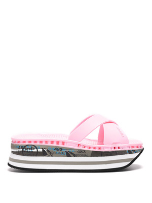Premiata: flip flops online - Moura rubber sandals