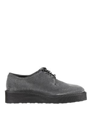 Premiata: lace-ups shoes - Ausir metallic lace-up shoes