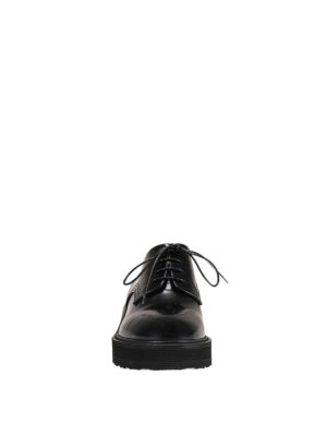Premiata: lace-ups shoes online - Gaia glossy leather derby shoes