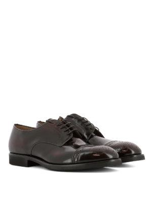 PREMIATA: scarpe stringate online - Brogue in pelle spazzolata