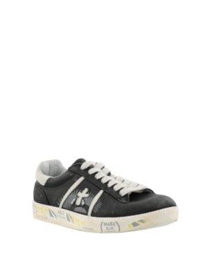 PREMIATA: sneakers online - Sneaker nere Andy in pelle vintage