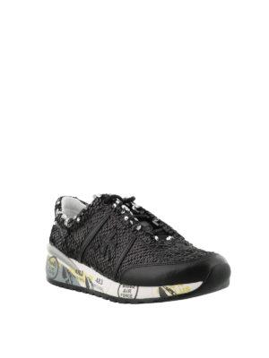 PREMIATA: sneakers online - Sneaker nere Ann di paillettes
