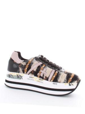 PREMIATA: sneakers online - Sneaker Beth maxi suola e dettagli colorati