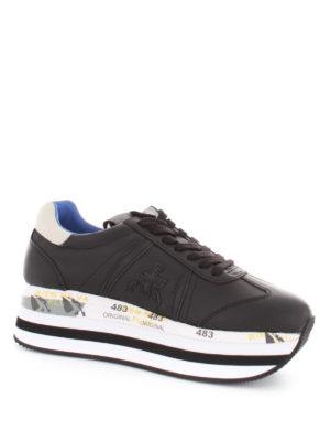 PREMIATA: sneakers online - Sneaker Beth maxi suola e talloncino bianco