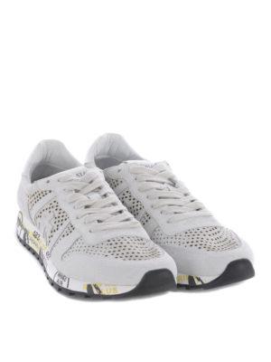 PREMIATA: sneakers online - Sneaker Eric in camoscio traforato