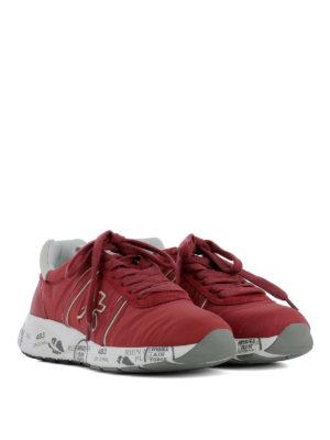 PREMIATA: sneakers online - Sneaker Mattew-D in tessuto rosso