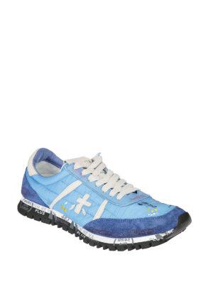 PREMIATA: sneakers online - Sneaker Sean azzurre