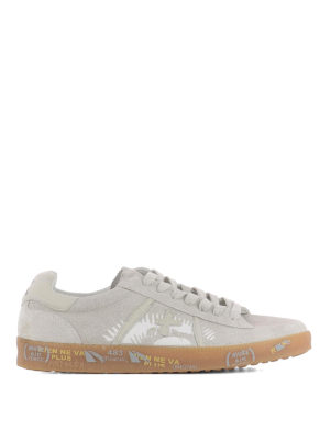 Premiata: trainers - Andy suede sneakers