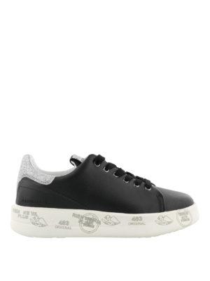 PREMIATA: sneakers - Sneaker Belle in pelle nera
