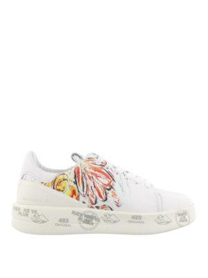 PREMIATA: sneakers - Sneaker Belle in pelle con stampa