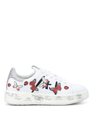 PREMIATA: sneakers - Sneaker Belle con farfalle