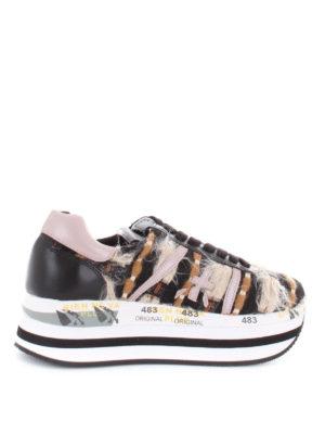 PREMIATA: sneakers - Sneaker Beth maxi suola e dettagli colorati