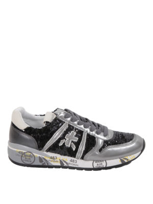 Premiata: trainers - Diane sequin detailed sneakers