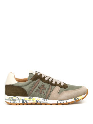 Premiata: trainers - Eric multi fabric running sneakers