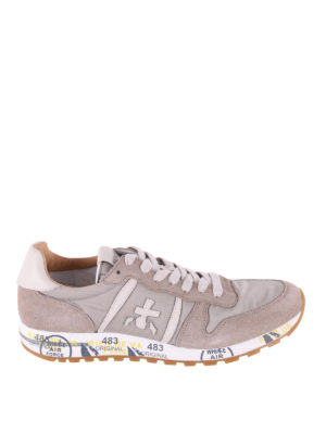 Premiata: trainers - Eric taupe running sneakers