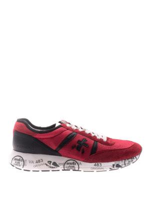 Premiata: trainers - Hanzo red sneakers