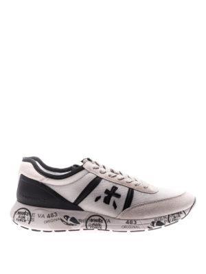 Premiata: trainers - Hanzo white sneakers