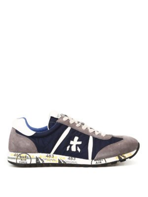 Premiata: trainers - Lucy nylon and suede sneakers