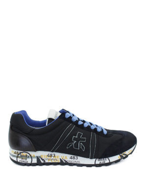 Premiata: trainers - Lucy suede and fabric sneakers