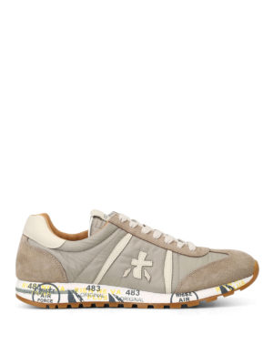 Premiata: trainers - Lucy suede and nylon sneakers