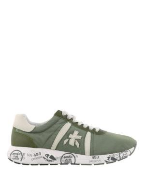 PREMIATA: sneakers - Sneaker Mattew verdi oliva