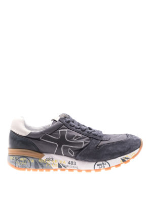 Premiata: trainers - Mick grey sneakers