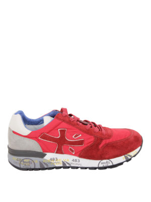 Premiata: trainers - Mick suede and nylon sneakers