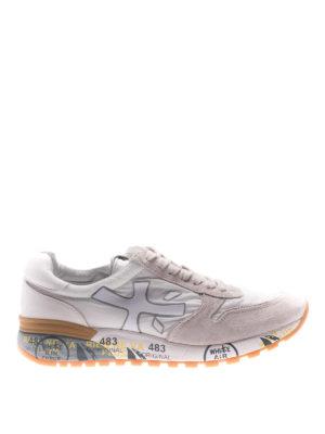 Premiata: trainers - Mick white sneakers