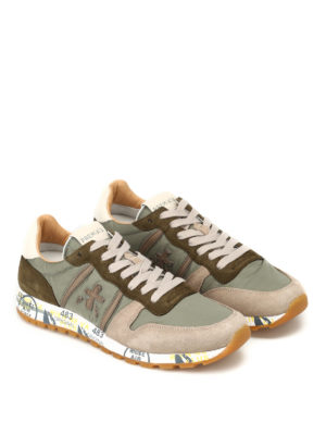 Premiata: trainers online - Eric multi fabric running sneakers