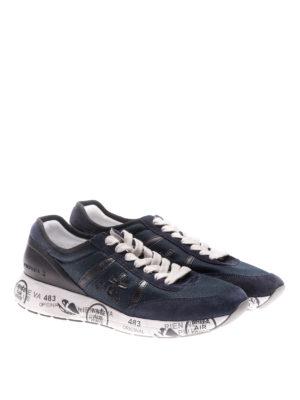 Premiata: trainers online - Hanzo blue sneakers