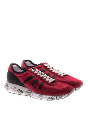 Premiata: trainers online - Hanzo red sneakers
