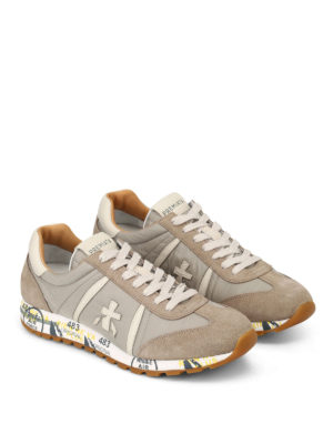 Premiata: trainers online - Lucy suede and nylon sneakers