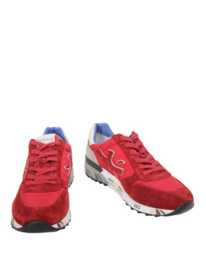 Premiata: trainers online - Mick suede and nylon sneakers