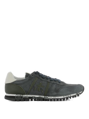Premiata: trainers - Prince 2430 suede sneakers