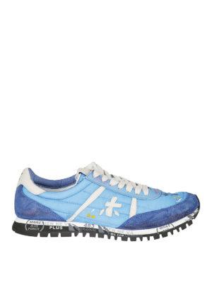 PREMIATA: sneakers - Sneaker Sean azzurre