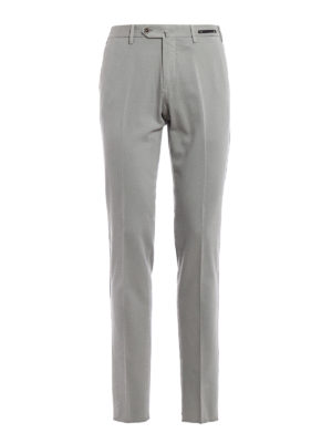 Pt 01: casual trousers - Cotton and cashmere blend trousers